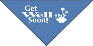 Get Well Soon Bandanna